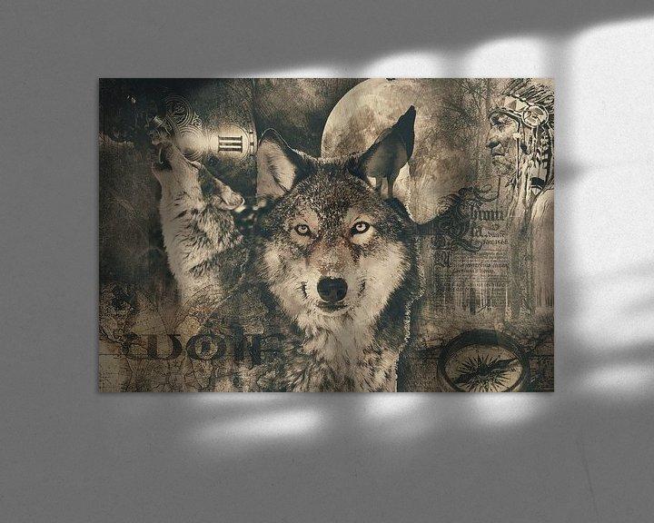 Beispiel: Der Wolf von Bert Hooijer