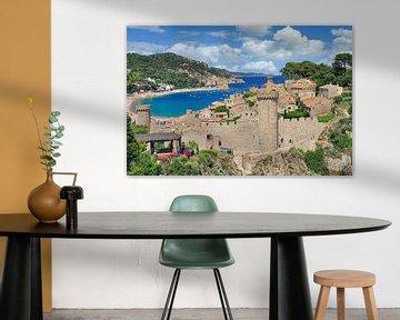 Tossa de Mar an der Costa Brava von Peter Eckert