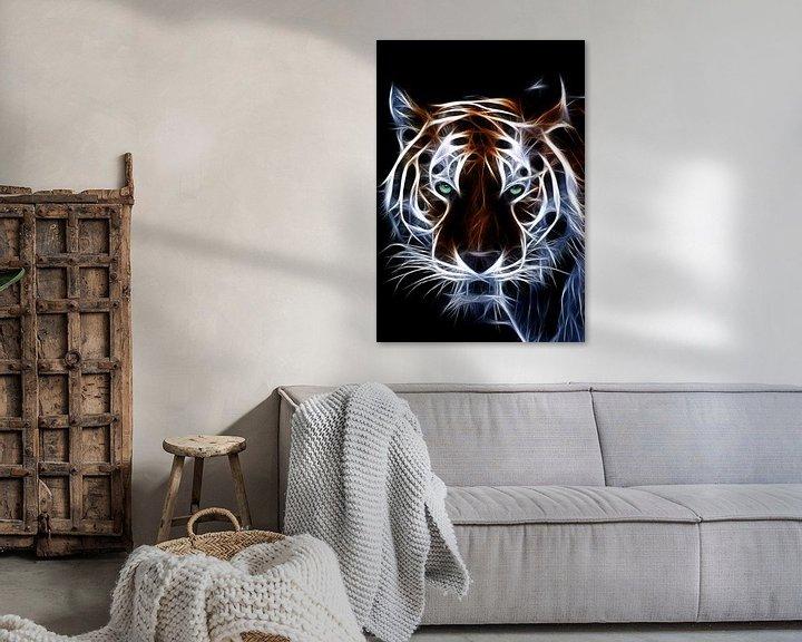 Beispiel: Der Tiger von Bert Hooijer