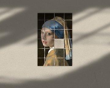 Meisje met de Parel - Meisje zonder Parel von Marja van den Hurk