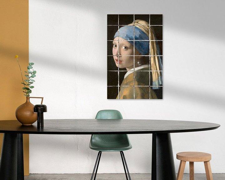 Impression: Meisje met de Parel - The Tiled Edition sur Marja van den Hurk