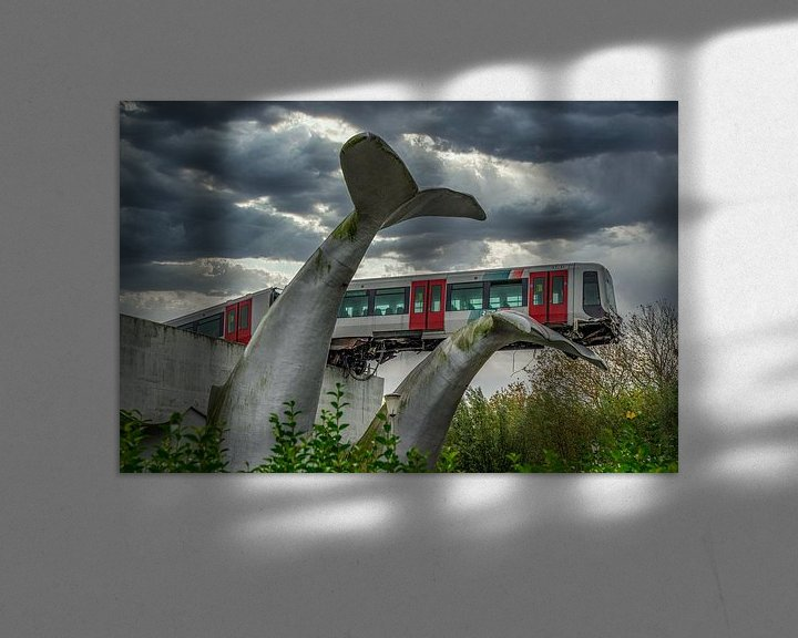 Sfeerimpressie: Metrocrash van Leo Luijten