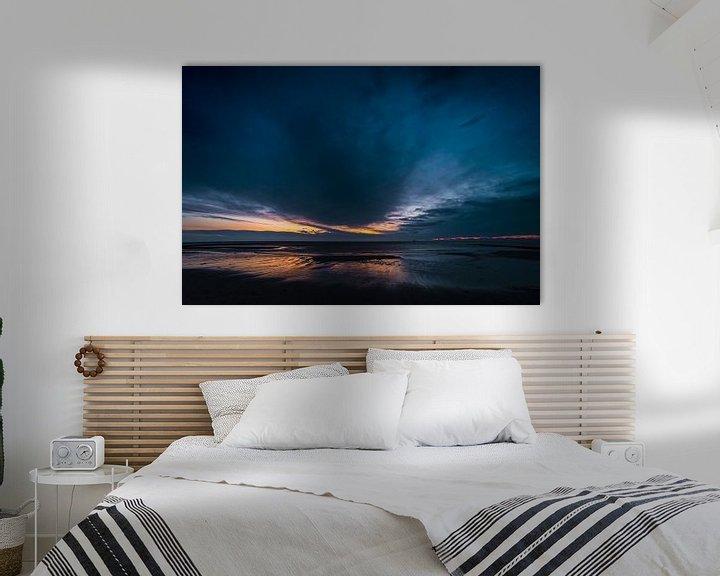 Beispiel: Blaue Stunde am Meer von Stephan Zaun