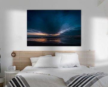 Blaue Stunde am Meer