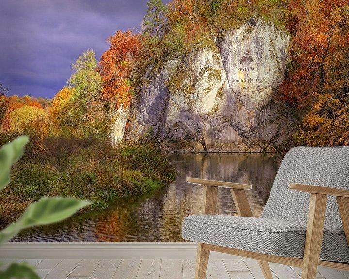 Beispiel fototapete: Amalienfelsen Donautal von Patrick Lohmüller