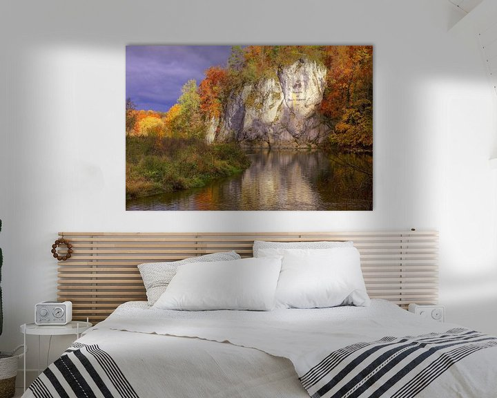 Beispiel: Amalienfelsen Donautal von Patrick Lohmüller