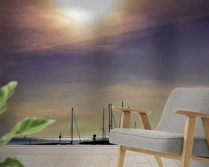Sfeerimpressie behang: Stavoren van Harrie Muis
