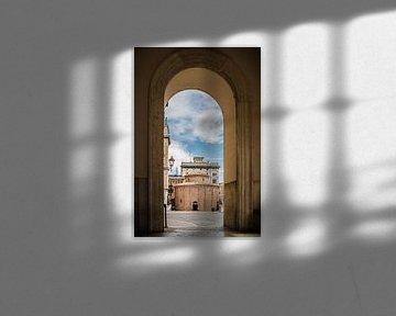 Rotonda di San Lorenzo Mantova Italien von Jefra Creations