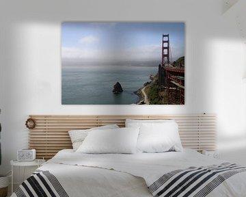 Die Golden Gate Brücke von Sausalito aus gesehen von Christiane Schulze