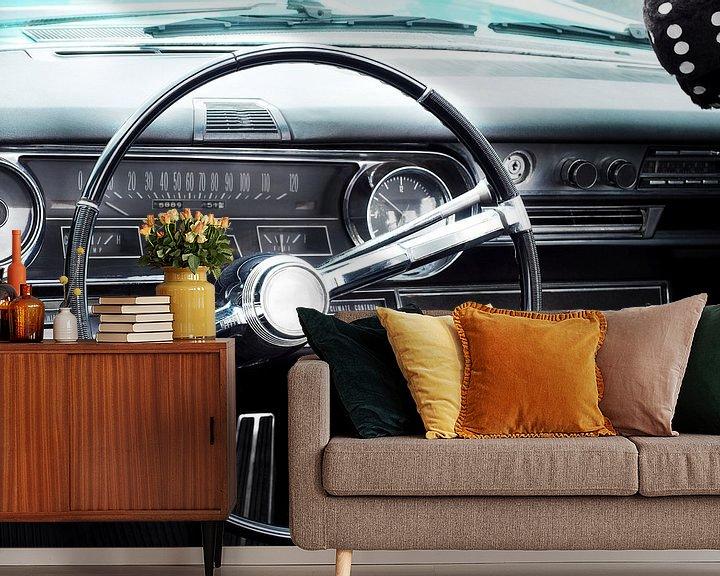 Impression: Voiture classique américaine 1965 Fleetwood Eldorado Cabriolet sur Beate Gube