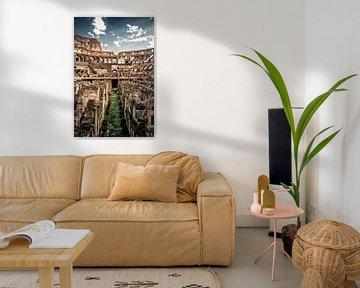 Kolosseum Rom, Italien von Munich Art Prints