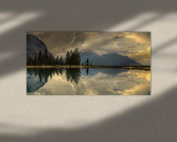 Almsee Oostenrijk Tirol van Pauline Paul