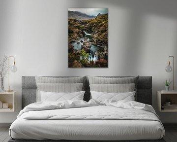 Fairy Pools Isle of Skye van Munich Art Prints