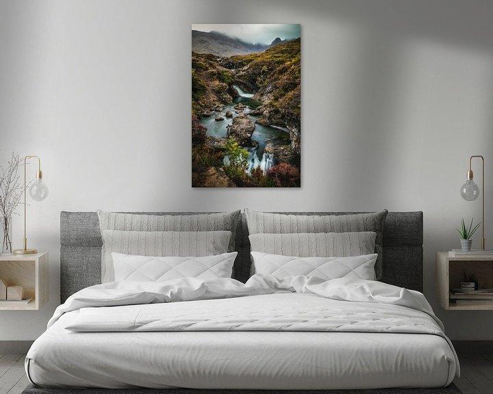 Beispiel: Fairy Pools Isle of Skye von Munich Art Prints