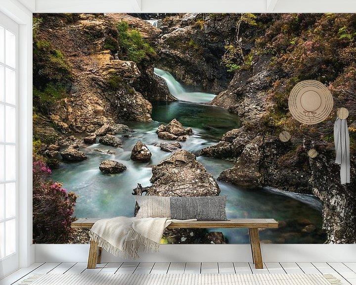 Beispiel fototapete: Fairy Pools Isle of Skye von Munich Art Prints