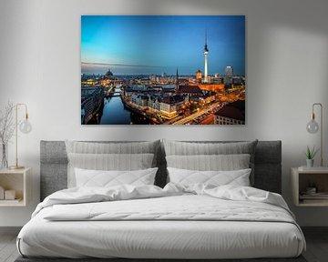 Berlijnse skyline van Munich Art Prints