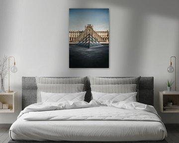 Louvre Paris von Munich Art Prints
