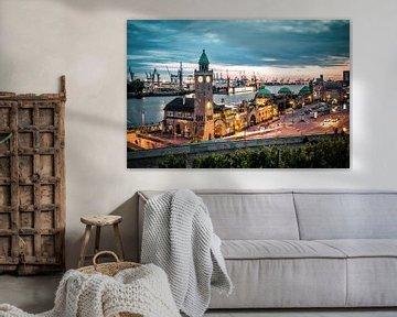 Hamburger Hafen von Munich Art Prints