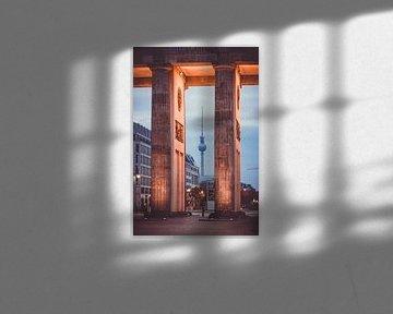 Berlijn Televisietoren van Munich Art Prints