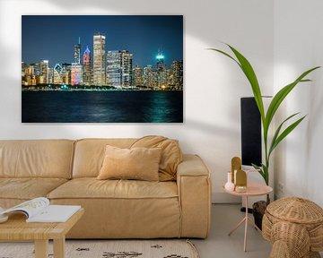 Skyline Chicago, VS van Munich Art Prints