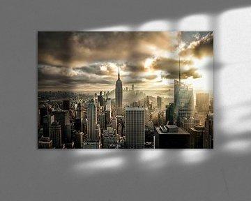 Skyline NYC, USA von Munich Art Prints