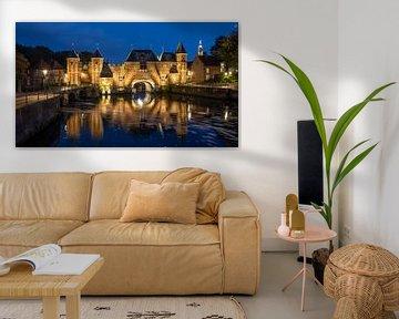 Koppelpoort Amersfoort (kleur) van Martin de Bock
