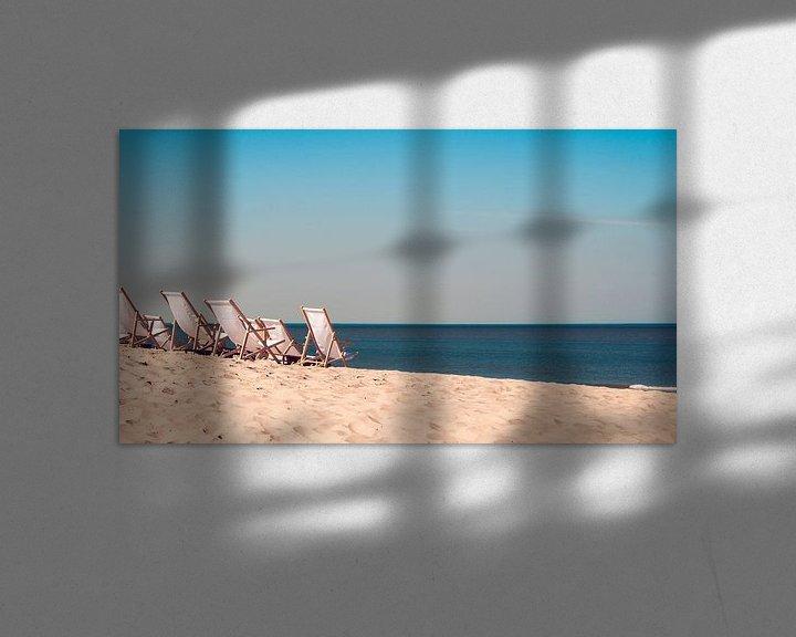 Sfeerimpressie: Zon en Zee van Elly van Veen