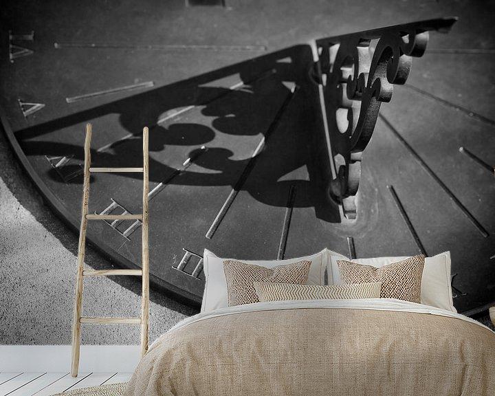 Sfeerimpressie behang: Tijdverloop van Jan van der Knaap