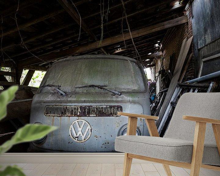 Sfeerimpressie behang: Volkswagen liefhebber van William Linders