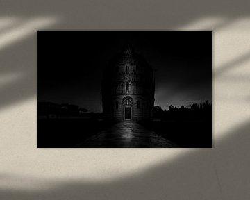 Dunkles Baptisterium in Pisa von Rene Siebring