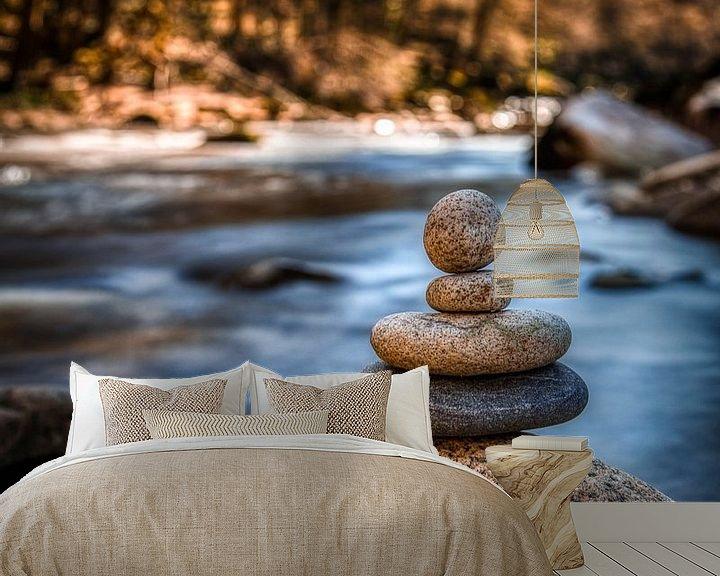 Beispiel fototapete: Steinmännchen von Marcus Lanz