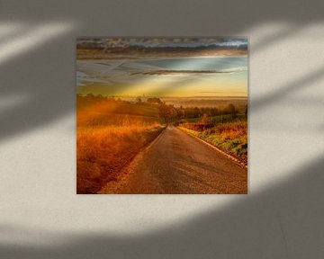 Lever de soleil en automne dans Simpelveld