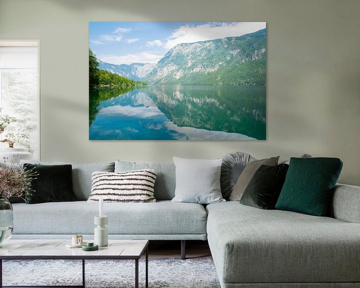 Sfeerimpressie: Het meer van Bohinj in Slovenie van Lifelicious