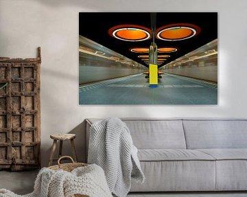 The Orange Subway Station von Vincent Willems