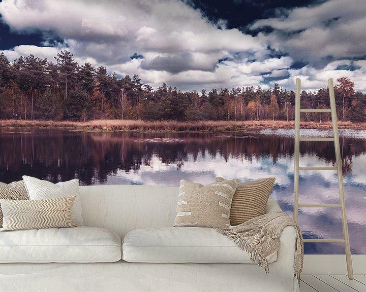 Sfeerimpressie behang: Vintage Herfst van Ronne Vinkx