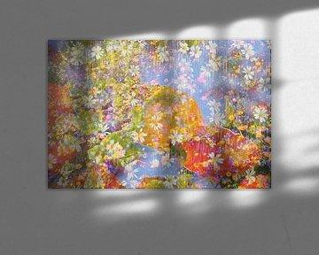 Flower power II van Herman Kremer
