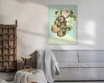 La Coiffure Florale – part deux van Marja van den Hurk