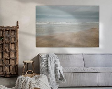 Stormachtig Zandvoort | Natuurfotografie Nederland van Trix Leeflang