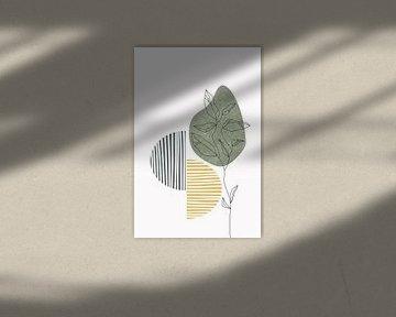 Wildblume Winter III von Munich Art Prints