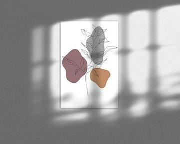 Wildblume Sommer I von Munich Art Prints