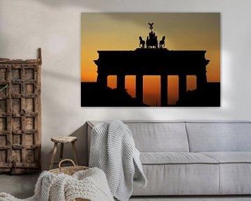 Brandenburger Tor Sonnenuntergang von Frank Herrmann