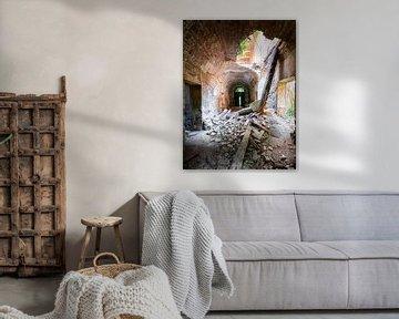 Verlassene Villa in Schwerer Verfall. von Roman Robroek
