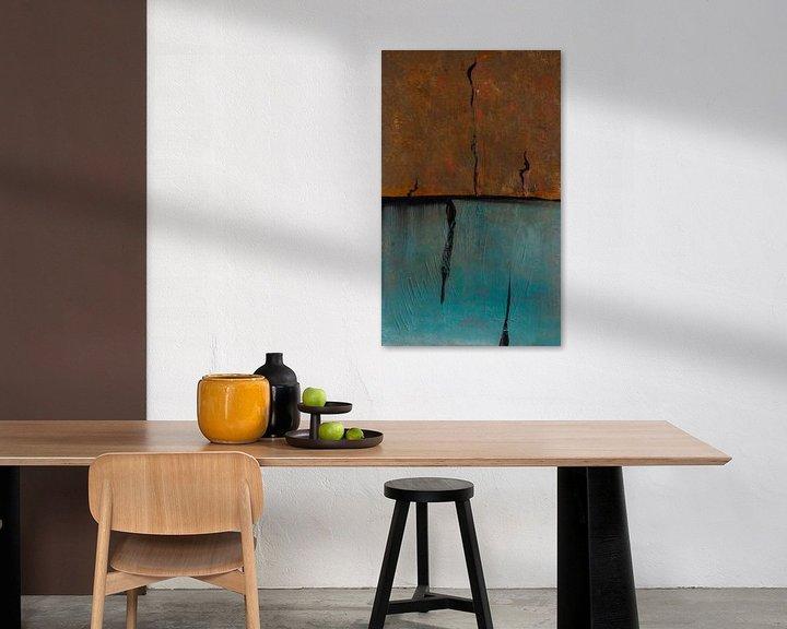 Sfeerimpressie: Horizon Compositie #6 van Sander Veen