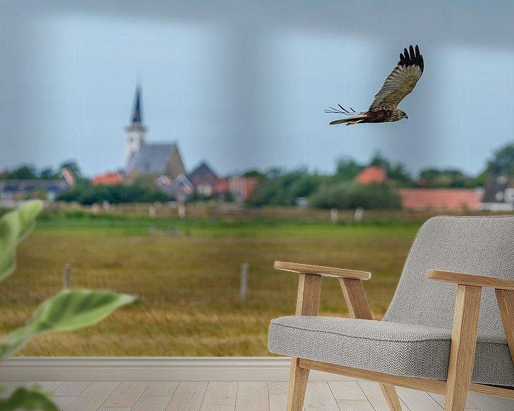Impression: Texel - Buse en vol le long de Den Hoorn 01 sur Texel360Fotografie Richard Heerschap