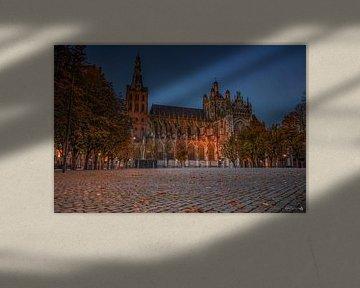 Die St. John's Cathedral in herbstlicher Atmosphäre von Rob Hendriks Fotografie