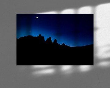 Nacht in de Dolomieten