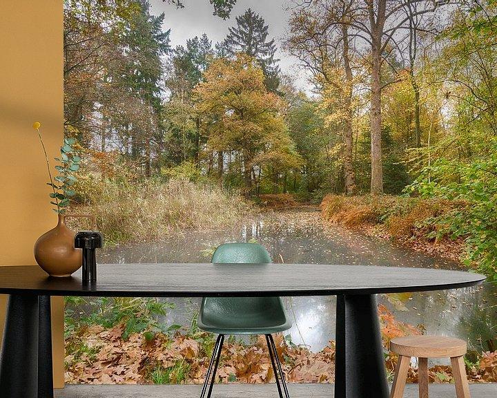 Sfeerimpressie behang: Herfst in Nederland van Mark Bolijn