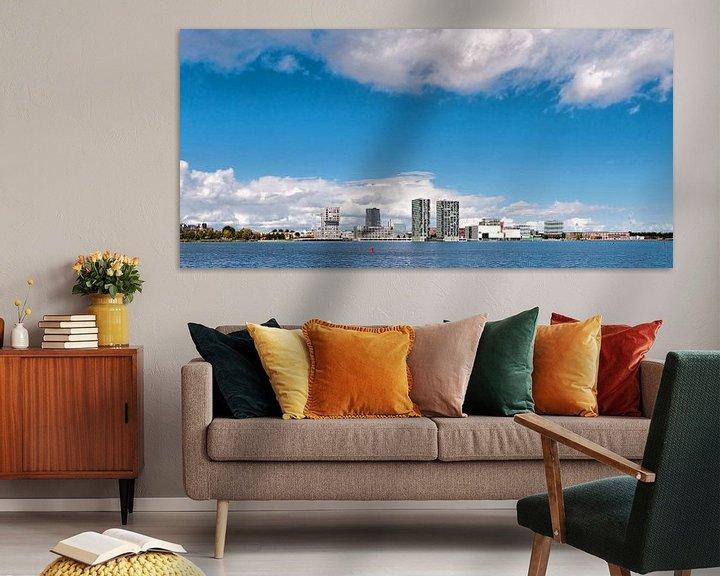 Sfeerimpressie: Almere Stad  Skyline van Brian Morgan