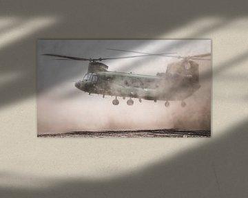 Chinook van de Koninklijke Luchtmacht van Dennis Janssen