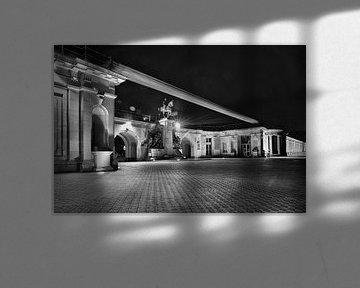 Ostend-Seedeich im Abendlicht von Rik Provost